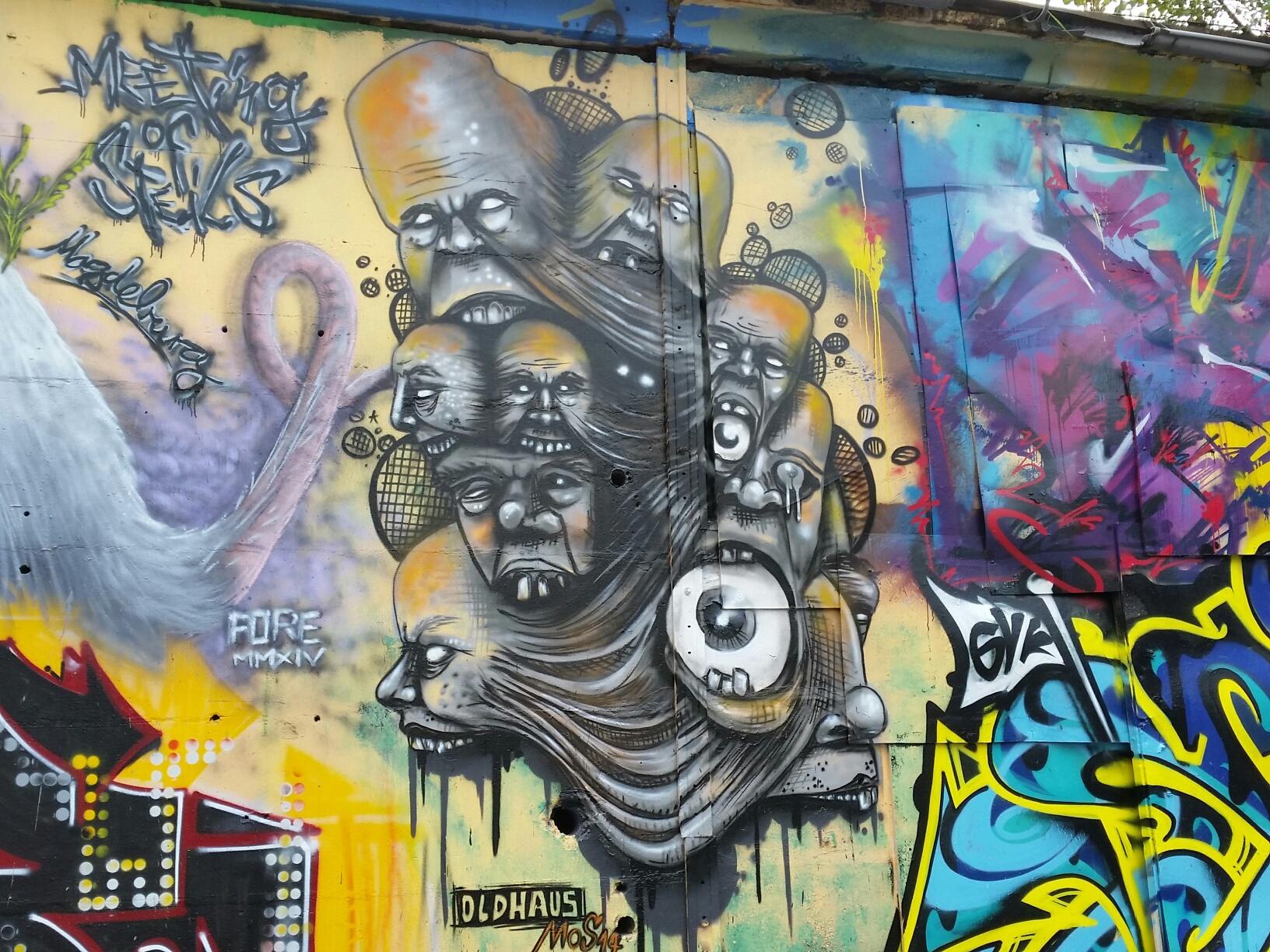 Coole Kunst In Magdeburg Klassenkrempel